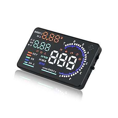 billige Bil Elektronikk-A8 5.6 tommers LED Med ledning Hodet opp skjerm LED-indikator / Plug and play / Multifunksjonell skjerm til Bil / Buss / Truck Kjørfart /
