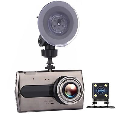 billige Bil-DVR-t667 dual lens bil dvr auto kamera biler dvrs dash cam svart boks videokamera fhd 1080p opptaker video registrator carcam