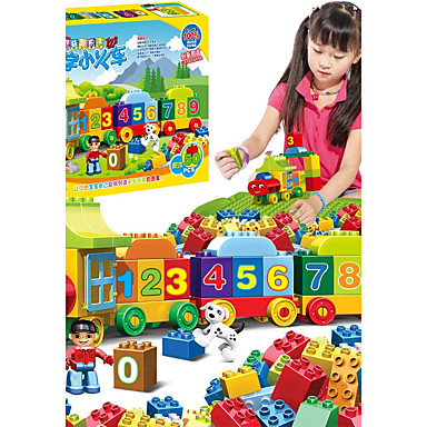 Building Blocks 50 pcs Parent-Child Interaction Train Boys' Girls' Toy Gift 6612005 2019 – $34.99