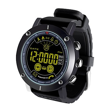 ex19 έξυπνο ρολόι bluetooth fitness tracker υποστήριξη ειδοποίηση / θερμίδες καίγονται σπορ smartwatch συμβατό με τηλέφωνα iphone / samsung / android