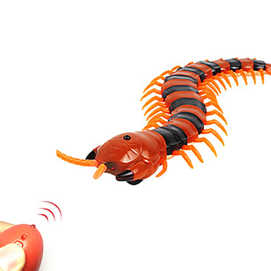 cheap Gags & Practical Jokes-Remote Control Animal Prank Funny Toy Centipede Creepy-crawly millipede Remote Control / RC Simulation Plastic ABS Boys' Girls' Toy Gift 1 pcs