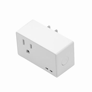 Sokkel Planlagt tid Kontroller fixturen din hvor som helst No-Hub Kreves Timing Funksjon 1pack 750 ° C ABS + PC Plugg-inn Wi-Fi Universal