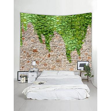 Hage Tema Landskap Veggdekor 100% Polyester Moderne Veggkunst, Veggtepper Dekorasjon
