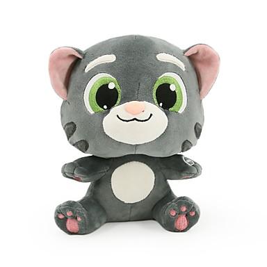 voordelige Knuffels & Pluche dieren-Kat Dier Knuffeldieren Sprekend gezang pratend Normale Unisex Speeltjes Geschenk