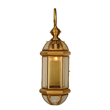 JLYLITE Estilo Mini Tradicional / Clássico Luminárias de parede Quarto / Quarto de Estudo / Escritório Metal Luz de parede 110-120V /