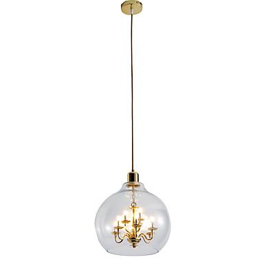 ZHISHU 9-Light Lysekroner / Anheng Lys Omgivelseslys galvanisert Malte Finishes Metall Glass Justerbar 110-120V / 220-240V Varm Hvit / Hvit Pære Inkludert / G4