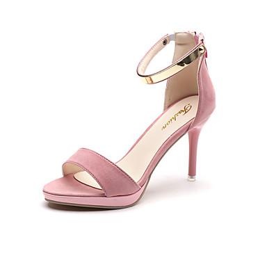 Mujer Zapatos Ante Verano Confort Sandalias Tacón Stiletto Negro / Azul Acheter Pas Cher Prix De Gros Réduction 2018 v0WMAUph