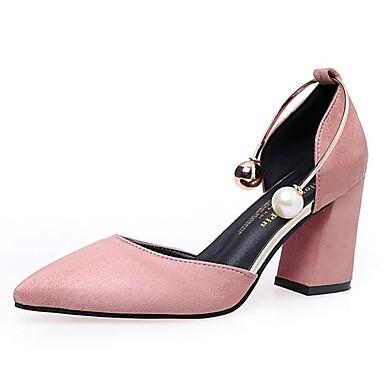 Mujer Zapatos Cuero Verano Confort Sandalias Tacón Bajo Negro / Borgoña nHcRzD