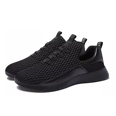 Hombre Zapatos Goma Primavera / Verano Confort Zapatillas de Atletismo Negro / Gris / Negro / blanco acuueBlDsw