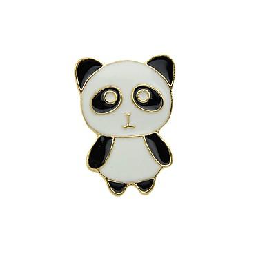 levne Dámské šperky-Brože Panda dámy Základní Módní Brož Šperky Černá Pro Denní Rande