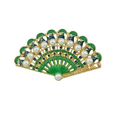 levne Dámské šperky-Dámské Brože Větrák dámy Základní Módní Brož Šperky Zelená Pro Denní Rande Cosplay kostýmy
