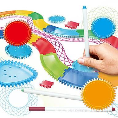 levne Kreslení hračky-Kreslení hračky Spirograph SUV Móda Obraz Zbavuje ADD, ADHD, úzkost, autismus Vynikající Měkký plast Unisex Hračky Dárek 1 pcs / Interakce rodič-dítě