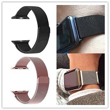 Ver Banda para Apple Watch Series 4/3/2/1 Apple Correa Milanesa Acero Inoxidable Correa de ...