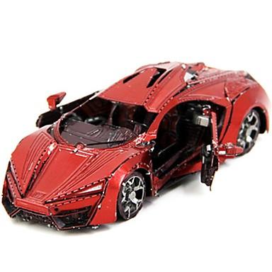 levne 3D puzzle-3D puzzle kreativita Focus Toy Ruční výroba Automobily úprava stání Oyuncak Závodní auto Dárek