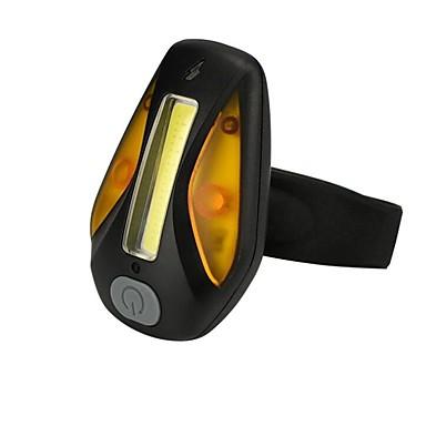 LED Sykkellykter Baklys til sykkel sikkerhet lys LED Fjellsykling Sykkel Sykling Vanntett Flere moduser Bærbar Fort Frigjøring Oppladbar 200 lm Oppladbar Hvit Oransje Dagligdags Brug Sykling / IPX-4