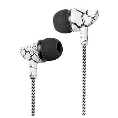 I øret Med ledning Hodetelefoner dynamisk Plast Mobiltelefon øretelefon Med mikrofon Headset