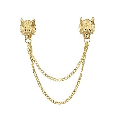 Γυναικεία Καρφίτσες κυρίες Βασικό Μοντέρνα Καρφίτσα Κοσμήματα Χρυσό Ασημί Για Καθημερινά Ημερομηνία