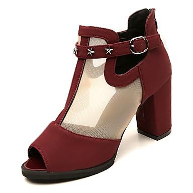 Chaussures À Talons De Bloc Confortable AECXsx6r42