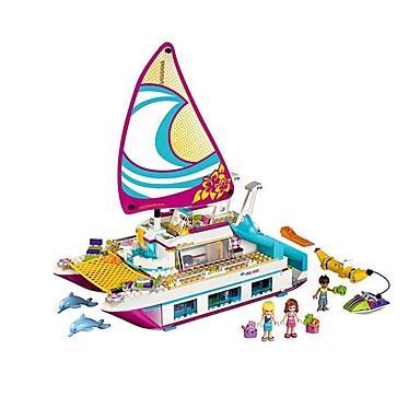 Τουβλάκια Κατασκευασμένα Παιχνίδια Εκπαιδευτικό παιχνίδι 651 pcs Ναυτικό συμβατό Legoing Πανέμορφος Αγορίστικα Κοριτσίστικα Παιχνίδια Δώρο