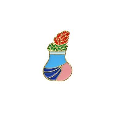 Nåler Blomst damer Grunnleggende Mote Brosje Smykker Blå Til Daglig Stevnemøte