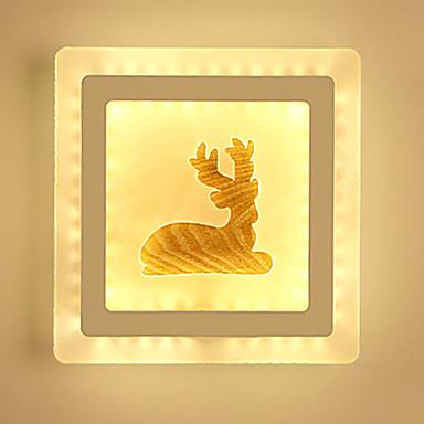 Πρωτότυπο Φωτιστικά Τοίχου με Εικόνα Υπνοδωμάτιο / Δωμάτειο Μελέτης / Γραφείο / Εσωτερικό Μέταλλο Wall Light 220-240 V 13 W / Ενσωματωμένο LED