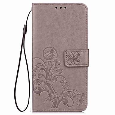 tok Για Sony Sony Xperia Z2 / Sony Xperia Z3 / Sony Xperia Z3 Compact Ανοιγόμενη / Ανάγλυφη Πλήρης Θήκη Μάνταλα / Πεταλούδα Σκληρή PU δέρμα