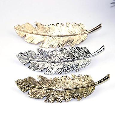 Klemmere hår tilbehør Festet Parykker Tilbehør Dame 1pcs stk 1-4 tommer (ca. 2,5-10cm) cm Daglig Arkaistisk Nuttet