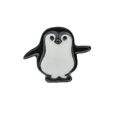 levne Dámské šperky-Dámské Brože Novinka Prázdninový Tučňák dámy Základní Módní Brož Šperky Černá Pro Denní Rande
