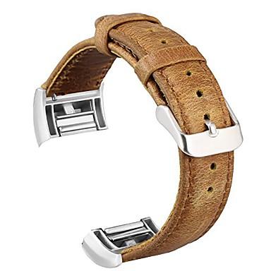 Klokkerem til Fitbit Charge 2 Fitbit Klassisk spenne Ekte lær Håndleddsrem