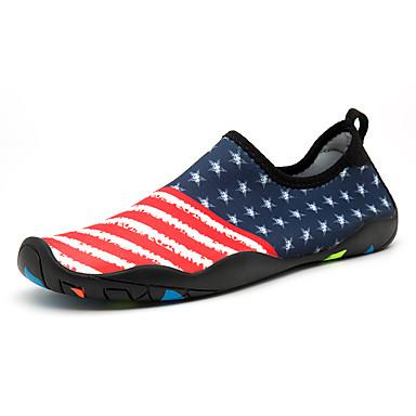 Hombre / Unisex Zapatos Espándex Verano / Otoño Confort / Mocasín Zapatillas de Atletismo Fitness / Agua / Antideslizantes Azul yi30xYDok