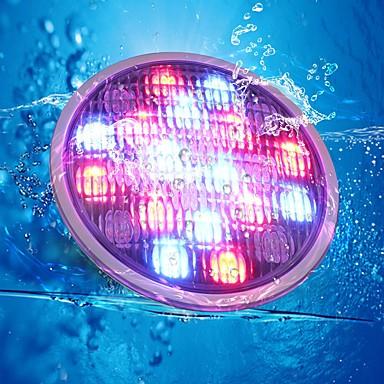 Undervattensglödlampa Vattentät / Bimbar / Dekorativ RGB 12 V Utomhusbelysning 252 LED-pärlor