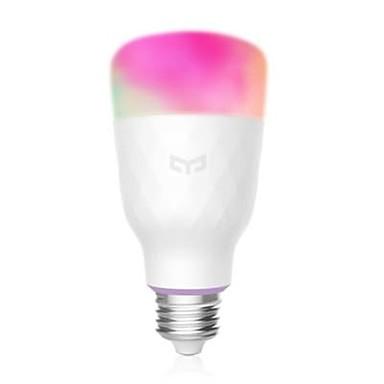 YEELIGHT YLDP06YL Smart Light Bulb E27 16 Million Colors WiFi Enabled Work with Amazon Alexa MIJIA Support Google Home