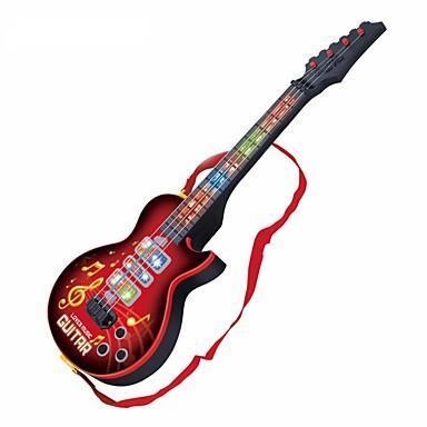 Elektrisk Gitar Gitar Lys Musik Gutt Jente Barne Leketøy Gave 1 pcs