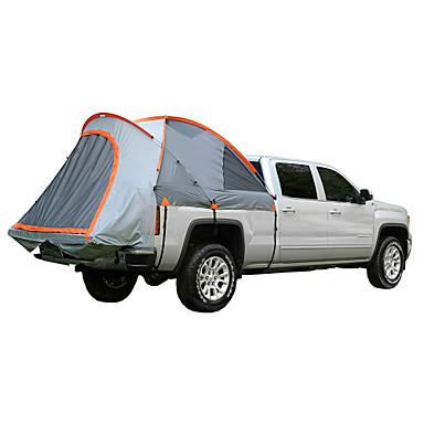 2 personer Trucktelt Utendørs Vindtett Regn-sikker Dobbelt Lagdelt Stang Kuppel camping Tent 1500-2000 mm til Fisking Camping / Vandring / Grotte Udforskning Reise PE Oxford 315*180*170 cm
