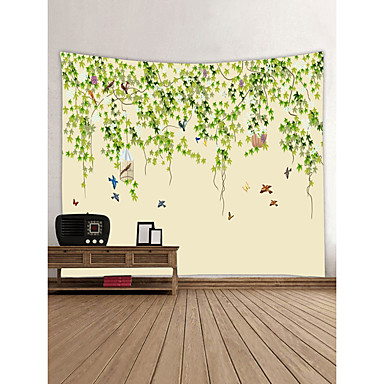 Garden Theme Animals Wall Decor 100% Polyester Contemporary Modern ...