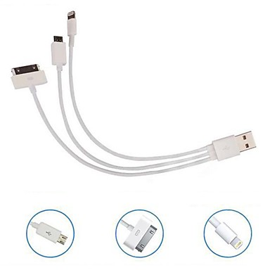 Kinston 3 In 1 Retraceable Usb Cable For Nokiaiphone 3gs44sipad