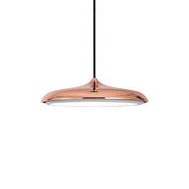 CONTRACTED LED Bowl Anheng Lys Nedlys Malte Finishes Metall Mini Stil, Justerbar 110-120V / 220-240V LED lyskilde inkludert / Integrert LED
