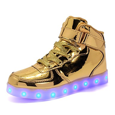 422323e799a132 Boys    Girls  Shoes PU(Polyurethane) Spring   Fall Light Soles   Light Up  Shoes Sneakers LED for Gold   Silver   Pink   Party   Evening 6785784 2019  – ...