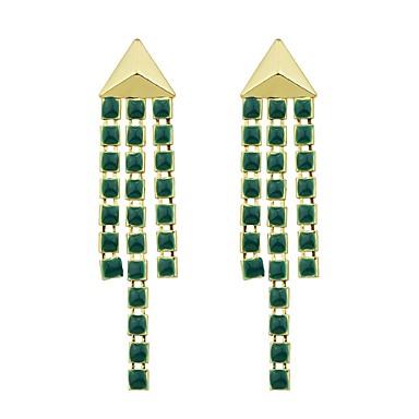 Dråpeøreringer damer Mote øredobber Smykker Grønn Til Gave Stevnemøte