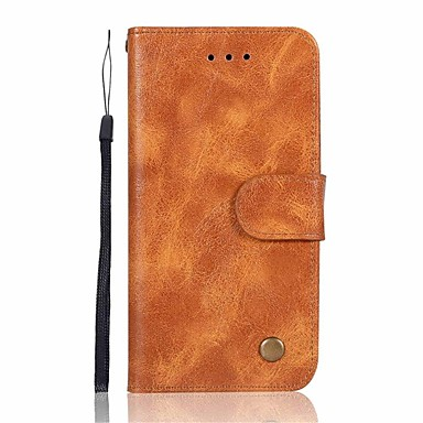 tok Για Huawei Mate 10 / Mate 10 pro / Mate 10 lite Πορτοφόλι / Θήκη καρτών / Ανοιγόμενη Πλήρης Θήκη Μονόχρωμο Σκληρή PU δέρμα