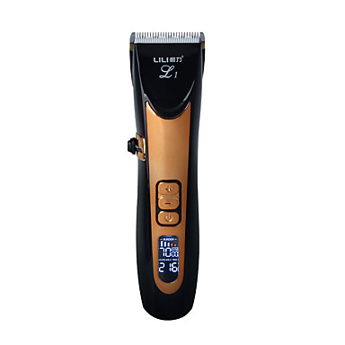 usb keramisk r-blade hår trimmer oppladbart hår klipper 4x ekstra begrensende kam stille motor for barn& baby&men