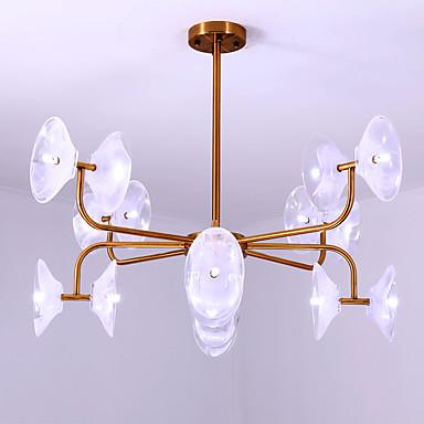 ZHISHU Πολυέλαιοι Ατμοσφαιρικός Φωτισμός Γαλβανισμένο Βαμμένα τελειώματα Μέταλλο Γυαλί Mini Style 110-120 V / 220-240 V Δεν συμπεριλαμβάνεται λαμπτήρας / G4
