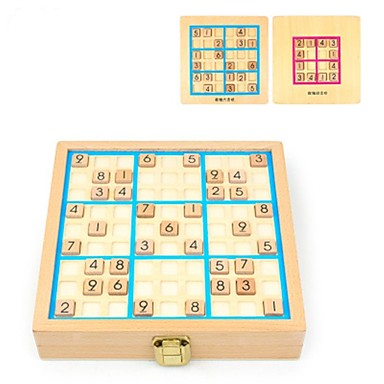 cheap Maze & Sequential Puzzles-Sudoku Puzzle Wooden Kid's Adults' Gift 81pcs