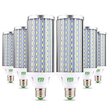 preiswerte LED-Kolbenlichter-ywxlight® 6pcs e27 60w 5850-5950lm Hochleistungsbirne 160 LED Perlen 5730smd Aluminium warmweiß kaltweiß naturweiß LED-Lampe Maislicht ac 85-265v
