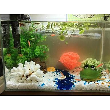 Fisketank Luftsteiner Pyntegjenstander Stones Grønn Vaskbar Dekorasjon Enkel å installere Harpiks 1 11*8*6.5 cm