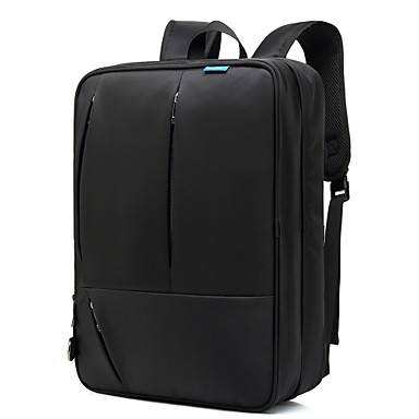 "cheap Laptop Bags & Backpacks-Coolbell 17"" Laptop Commuter Backpacks Nylon Solid Colored for Business Office for Colleages & Schools for Travel Shock Proof"