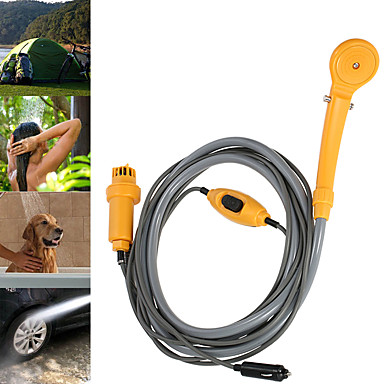 cheap Camping Tools, Carabiners & Ropes-Handshower Included, Portable, Shower for Beach / Camping / Hiking / Caving - ABS 1 pcs