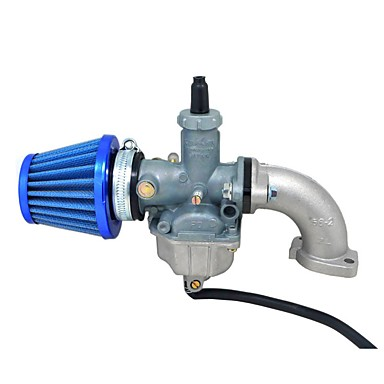 billige Bildeler-pz26 carb manifold oljetetning luftfilter for yx 125cc lifan 110cc smuss pit sykkel ATV 26mm carburetor