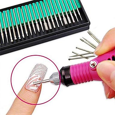 cheap Nail Tools & Equipments-30pcs Nail Art Tool Nail Art Grinding Head Nail Art Drill Kit For Fashionable Design / Durable nail art Manicure Pedicure Professional / Scrub Sets / Cute Daily Wear / Practice