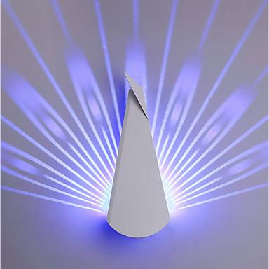 Original Vegglamper Soverom / Leserom / Kontor / Innendørs Metall Vegglampe IP44 220-240V 9 W / Integrert LED